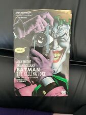 Batman: The Killing Joke by Alan Moore (2008, Hardcover, Deluxe)