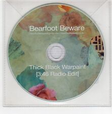 (GE577) Bearfoot Beware, Thick Black Warpaint - 2015 DJ CD