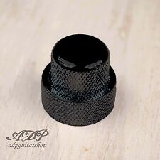 BOUTON DOUBLE SUPERPOSE pour 25x19 CONCENTRIC Pot Stacked DOME KNOB BLACK
