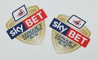 *14 / 15 - SKY BET FOOTBALL LEAGUE 1 CHAMPIONS / 2 x PRO-S ARM PATCHES = PLAYER*