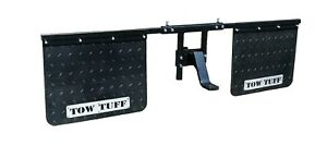 Tow Tuff TTF-2418AMF Universal- Mounts Mud Flaps for Towing