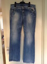 Replay L34 Relaxed Fit, Slouch Jeans for Women