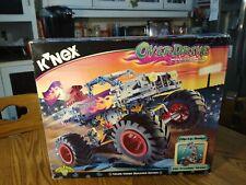 K'Nex Overdrive Monster Truck - Builds 3 Models - 14138 2001 Rare - Sealed Box