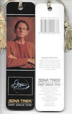 Star Trek Deep Space Nine Odo Photo Tasseled Laminate Bookmark 1993 NEW UNUSED