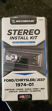 SCOSCHE FDK106 1994-Up Select Vehicles Car Stereo Connector