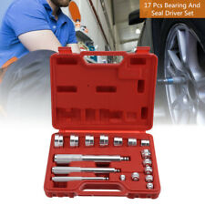 17Pcs Aluminium Wheel Bearing Race Seal Bush Driver Master Car Garage Tool Set