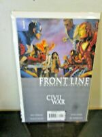 Civil War Front Line # 1 - 2006 Marvel Comics BAGGED BOARDED~