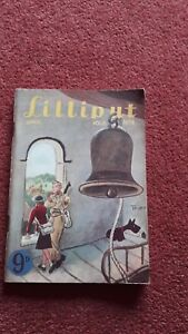 VINTAGE LILLIPUT MENS MAGAZINE APRIL 1941 VOL 8 NO 4
