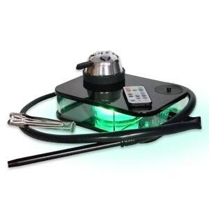 1PCS Black box acrylic book Type water tobacco pot Shisha Hookah