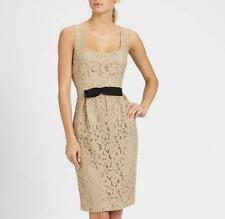 Moschino Lace Cocktail Dress with Back Bow UK8 IT40 - RRP595GBP