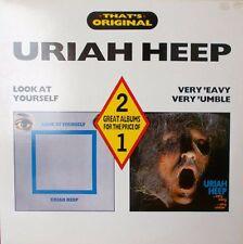 URIAH HEEP  SCARCE DOUBLE ALBUM. /EX. LOOK YOURSELF..VERY 'EAVY.