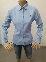 Camicia U.S. POLO.ASSN Donna Shirt Woman Chemise Femme Taglia Size L 8630