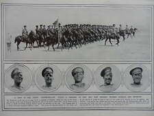1914 RUSSIAN STEAMROLLER - COSSACKS AND INFANTRY WWI WW1