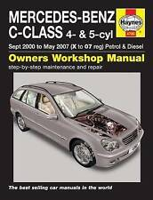 Mercedes-Benz C-Class Service and Repair Manual by Haynes Publishing Group (Pap…