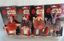 Star Wars Episode I Koosh Ball Character Figure Jar Jar Binks Watto Kaadu OddzOn