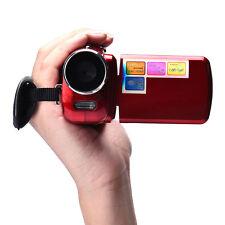 1.8 Inch TFT LCD 4x Digital Zoom Mini Video Camera DV Camcorder Red