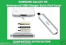 Waterproof USB Charger Dock Port Cover Replacement For Samsung Galaxy S5