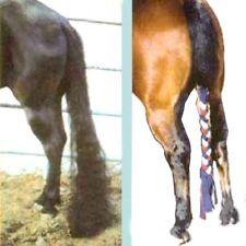 """The Original TailWrap Fleece Tail Wrap Tail Braid - Medium 34"""" Choice of Color**"""
