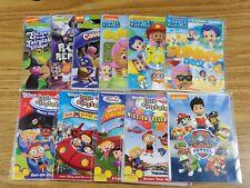 Lot of 11DVDs The Backyardigans Nick Jr. 3 + 3 Bubble Guppies + 4 Little Einstei