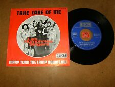 LES HUMPHRIES SINGERS - TAKE CARE OF ME - MARY TURN  - 45 PS / LISTEN - POP SOUL