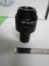 POLYVAR REICHERT LEICA EYEPIECE WP10X / 20F MICROSCOPE OPTICS  BIN#F2-62