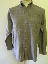 "Genuine Pendleton Wool Check Flannel Shirt - S 36"" Euro 46 - Brown"