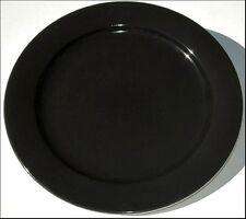 BLACK BOPLA Porzellan 27cm grosser Essteller GRANDE ASSIETTE  large Plate LLAN0