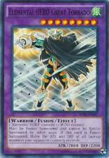 7x Elemental Hero Great Tornado - SDHS-EN045 - Common Unlimited Near Mint YGO