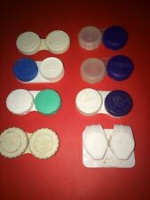 22pc Set Of Eye Contact Lens Cases (8 sets) Clean and Ready to Use