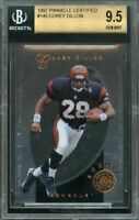 1997 pinnacle certified #145 COREY DILLON bengals rookie BGS 9.5 (9.5 9.5 9.5 9)