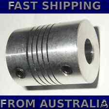 Flexible universal coupling for 5mm shaft