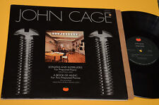 JOHN CAGE LP SONATAS AND INTERLUDES ORIG USA 1977 EX AVANTGARDE EXPERIMENTAL