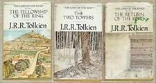 LORD OF THE RINGS PB SET ~ TOLKIEN'S OWN COVER ART ~ 70's COVERS ~ LOT 21 3 VOL
