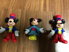 1990's McDonalds Happy Meal Disney Mickey and Minnie Mouse Figurines
