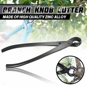 Round Edge Beginner Concave Cutter Bonsai Branch Tools Knob Pruner Scissors  #
