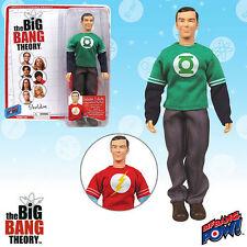 Big Bang Theory SHELDON w/Green Lantern & Flash T-Shirt 8in BBP! Action Figure