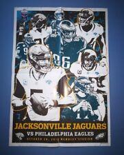 POSTER Philadelphia Eagles v Jacksonville Jaguars 28 Oct 2018 Wembley London NFL