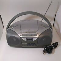 Sony CFD-S200 Mega Bass Stereo AM/FM Radio CD Player Cassette-Corder Boombox