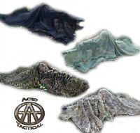 Rifle Sniper Veil Camouflage Netting Mesh Gun Wrap Material - 2pc Camo Patterns