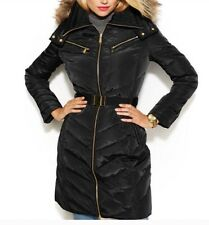 Micheal Michael Kors Black Long Puffer Coat XS