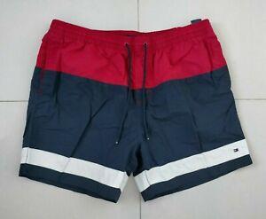 Tommy Hilfiger Mens Designer Swim Shorts Swim Trunks Size XXL