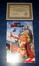 LADY PENDRAGON #1 DF GOLD variant signed 1st print JOE JUSKO MATT HAWKINS iMAGE