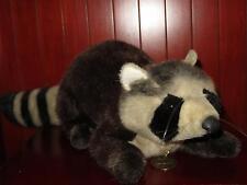 """28"""" DAKIN Classique 1988 Lifelike Raccoon Large Plush Stuffed Animal Vintage Tag"""