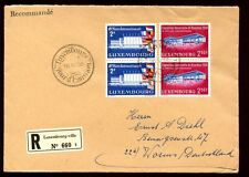 Luxembourg 1958 Int. Fair, Brussels Exhibition FDC #C6145
