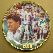RARE DAN MARINO THE BRADFORD EXCHANGE NFL QB CLUB COLLECTOR PLATE DOLPHINS