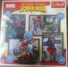 Spiderman 4 in 1 Trefl Puzzle NEW & SEALED