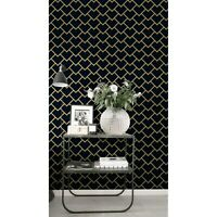 Geometric Scales removable wallpaper Simple wall mural Scandinavian decor
