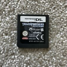 Transformers: Decepticons for Nintendo DS *Cart Only*