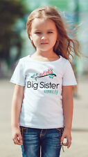 Sibling sisters cute owls personalised T shirt big sister, Middle  little