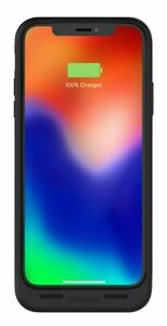 Mophie iPhone X/Xs Juice Pack Air Thin Wireless Battery Case Cover Black